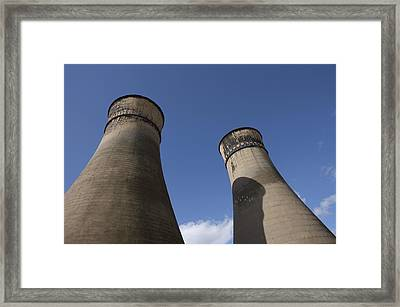 Tinsley Cooling Towers, Sheffield Framed Print