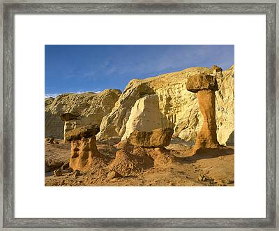 Toadstool Caprocks Grand Staircase Framed Print