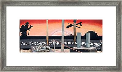 Together We Can Do So Much Framed Print by Unknown