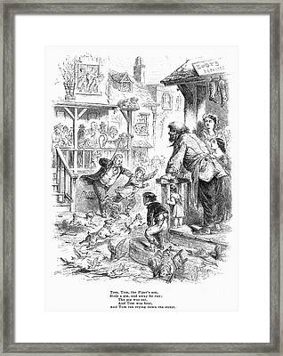 Tom, Tom, The Pipers Son Framed Print