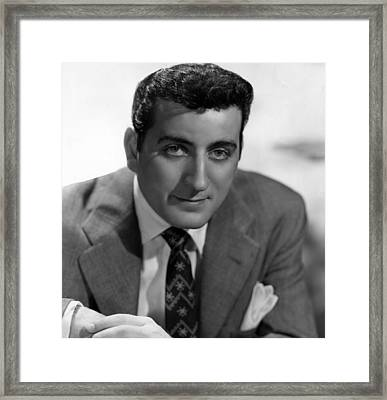 Tony Bennett, C. 1952 Framed Print by Everett