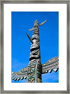Totem Pole Framed Print by Greg Vaughn - Printscapes