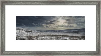 Towards Gradbach Framed Print by Andy Astbury