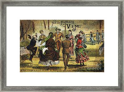 Trade Card, C1880 Framed Print by Granger