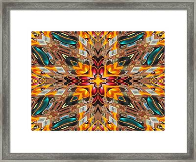 Traffic Light Framed Print by Michele Caporaso