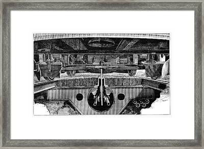 Tram Electrical Systems, 19th Century Framed Print by
