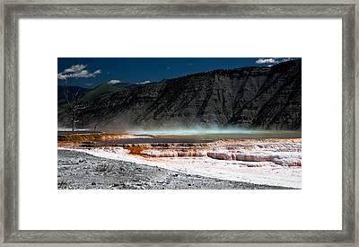 Travertine Terraces Framed Print by Ralf Kaiser