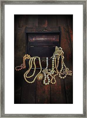 Treasure Chest Framed Print by Joana Kruse