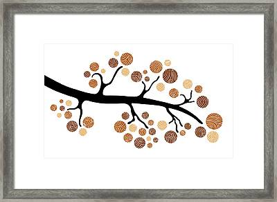 Tree Branch Framed Print by Frank Tschakert