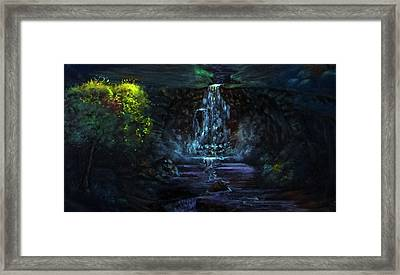 Tree Of Life Framed Print by Tommy  Winn
