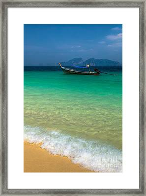 Tropical Paradise Framed Print by Adrian Evans