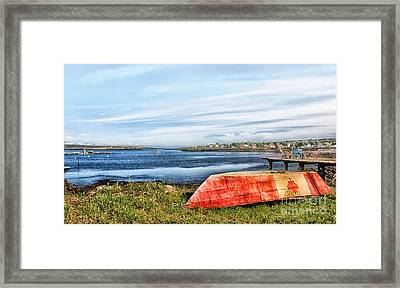 Framed Print featuring the photograph Truly Canadian by Nancy Dempsey