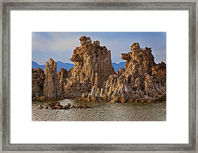 Tufa Mono Lake California Framed Print by Garry Gay