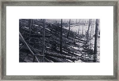Tunguska Event, 1908 Framed Print by Science Source