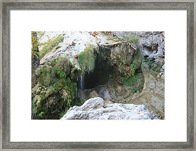 Turner Falls Framed Print by Jessica Jandayan