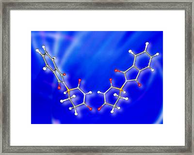 Two Forms Of Thalidomide Framed Print by Pasieka