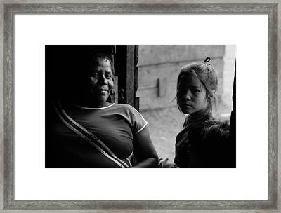 Two Generations Framed Print by Michael Mogensen