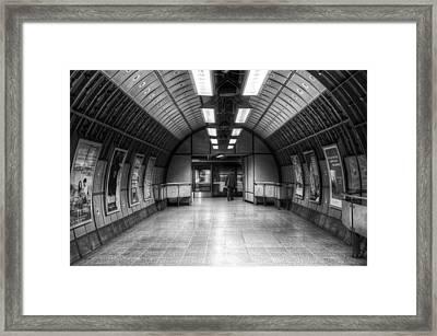 Underground 01 Framed Print