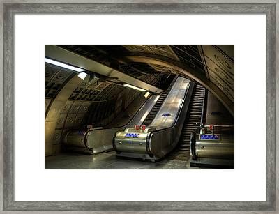 Underground 03 Framed Print