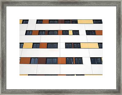 Unfinished Flats, Spain Framed Print by Carlos Dominguez