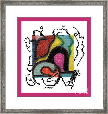 Untitled 5 Framed Print by Christine Perry