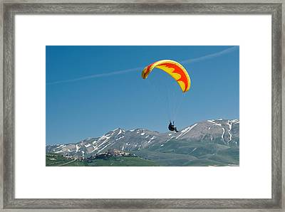 Up And Away Framed Print by Michael Avory