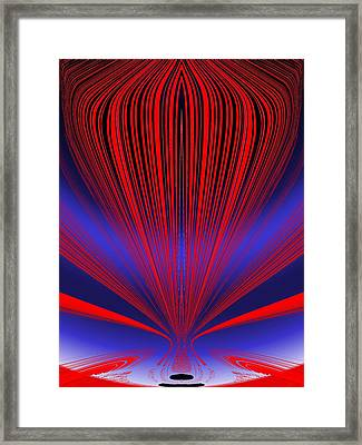 Up Up And Away Framed Print by Tim Allen