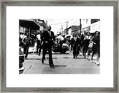 Us Civil Rights. Civil Rights Framed Print