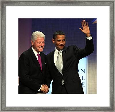 U.s. President, Barack Obama, Former Framed Print by Everett