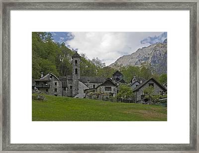 Valle Bavona - Ticino Framed Print by Joana Kruse