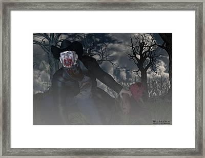 Vampire Cowboy Framed Print