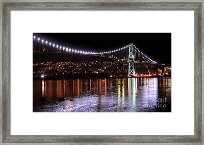Vancouver British Columbia 5 Framed Print by Bob Christopher
