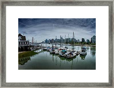 Vancouver Canada Framed Print by Scott Holmes