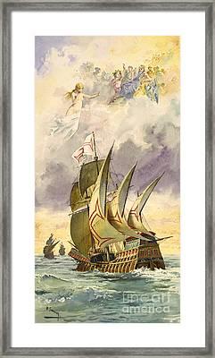 Vasco Da Gama, Portuguese Explorer Framed Print