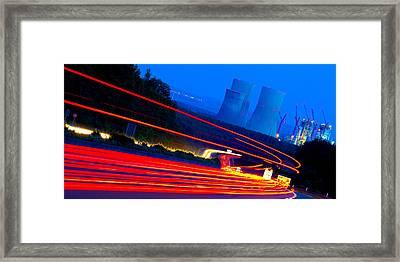 Velocity Framed Print by Thomas Splietker