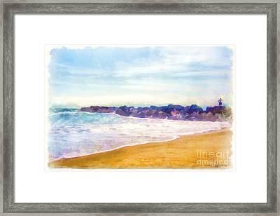 Venice Beach Framed Print by Dawn Serkin