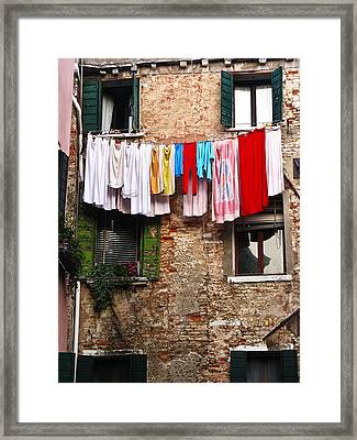 Venice Italy Fine Art Print Framed Print by Ian Stevenson