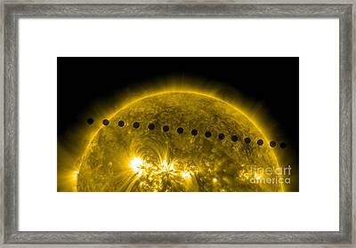 Venus Transit Framed Print
