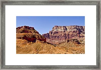 Vermilion Cliffs Arizona Framed Print by Jon Berghoff