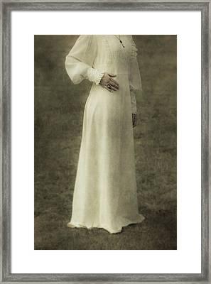 Victorian Lady Framed Print