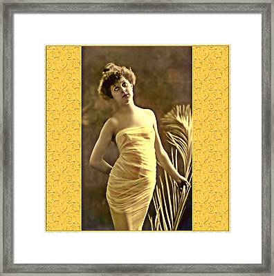 Framed Print featuring the photograph Vintage Enchantment by Mary Morawska