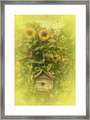 Vintage Garden Framed Print by Richard Cummings