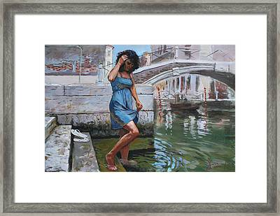Viola In Venice Framed Print