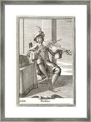 Violin, 1723 Framed Print