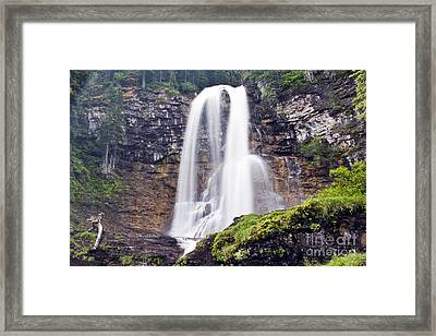 Virginia Falls Framed Print by Scotts Scapes