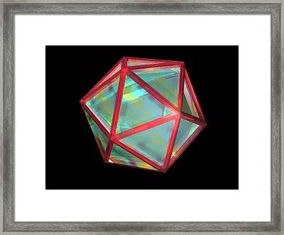 Virus, Computer Artwork Framed Print by Laguna Design