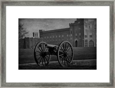 Vmi Lexington Framed Print by Todd Hostetter