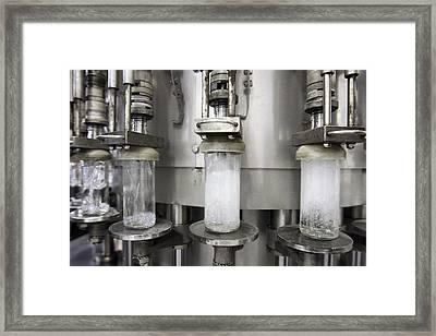 Vodka Factory, Russia Framed Print by Ria Novosti