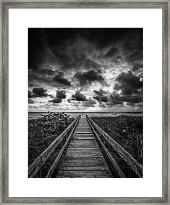 Walkway To Tomorrow Framed Print