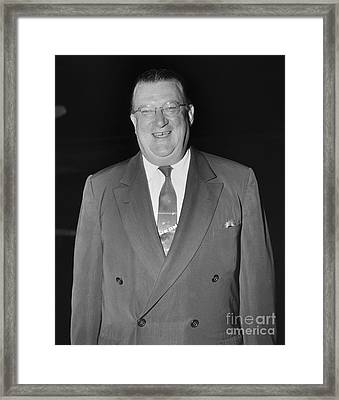 Walter Omalley (1903-1979) Framed Print by Granger